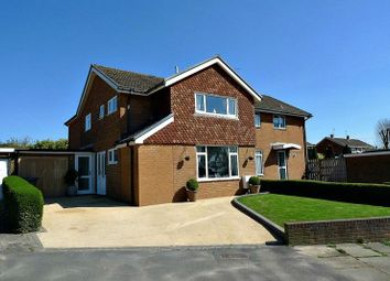 Thumbnail 4 bed semi-detached house for sale in Llanyravon Way, Llanyravon, Cwmbran