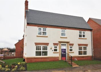 Thumbnail 4 bedroom detached house for sale in Hastings Manor, Hugglescote, Coalville