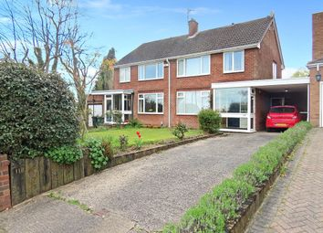 Thumbnail 3 bed semi-detached house for sale in Barnfield Avenue, Allesley, Coventry