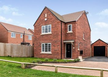 Thumbnail 3 bed detached house for sale in Fenton Close, Hampton Gardens, Peterborough