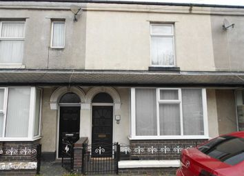 Thumbnail 2 bedroom terraced house for sale in Chapel Street, Crewe, Cheshire