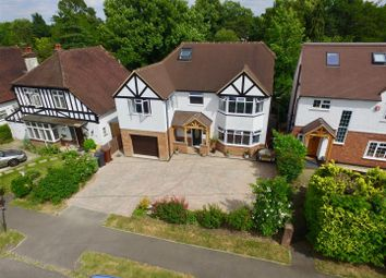 Thumbnail 5 bed detached house for sale in Lower Hill Road, Epsom