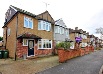 Thumbnail 4 bed semi-detached house for sale in Templedene Avenue, Staines-Upon-Thames