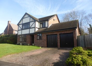 Thumbnail 4 bed detached house for sale in Kerris Way, Earley, Reading