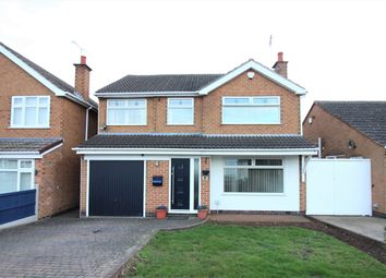 Thumbnail 4 bed detached house for sale in Carterswood Drive, Nuthall, Nottingham