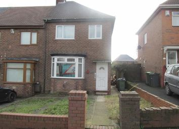 Thumbnail 3 bed semi-detached house to rent in Newbury Lane, Oldbury