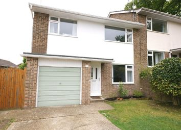 Thumbnail 3 bed semi-detached house for sale in Rushcombe Way, Corfe Mullen, Wimborne