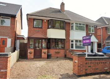 Thumbnail 3 bedroom semi-detached house for sale in Hodge Hill Road, Birmingham