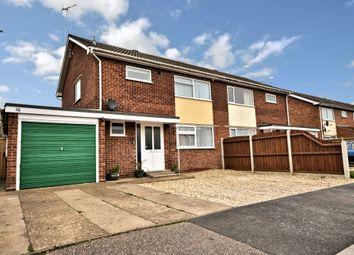 Thumbnail Semi-detached house for sale in Whitelands, Fakenham