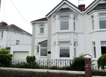 Thumbnail 3 bed semi-detached house for sale in Havard Road, Llanelli, Carmarthenshire