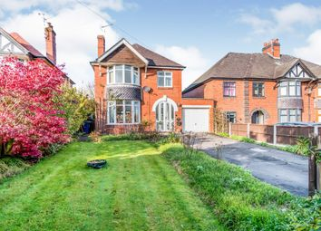 Thumbnail 3 bed detached house for sale in Stafford Road, Uttoxeter