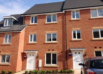 Thumbnail 4 bed town house to rent in Nickleby Close, Rugby