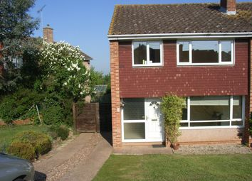 Thumbnail 3 bed semi-detached house to rent in Purcell Close, Exeter