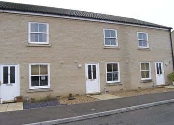Thumbnail 2 bed terraced house to rent in Sennitt Way, Stretham, Ely