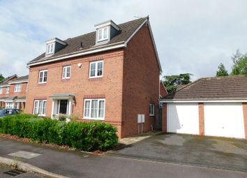 Thumbnail 5 bed detached house for sale in The Garthlands, Moss Pit, Stafford