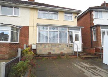 Thumbnail 3 bed property for sale in Sladepool Farm Road, Maypole, Birmingham