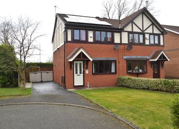Thumbnail 3 bed semi-detached house for sale in Weatherly Close, Bardsley, Oldham