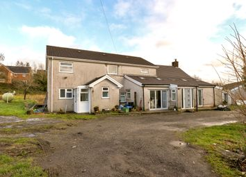 Thumbnail 5 bed detached house for sale in Trebeddau Farm, Twynyrodyn, Merthyr Tydfil