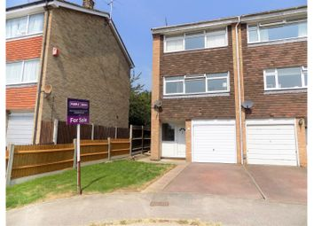 Thumbnail 4 bed town house for sale in Beverley Close, Gillingham