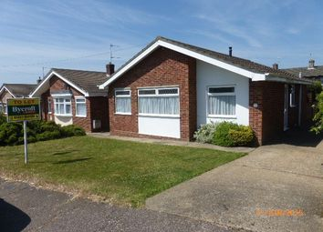 Thumbnail 3 bed detached bungalow to rent in Worlingham Way, Lowestoft