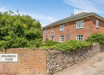 Thumbnail 5 bedroom farmhouse for sale in Aylsham Road, North Walsham