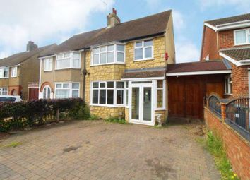 Thumbnail 3 bedroom semi-detached house to rent in Thornton Street, Kempston, Bedford