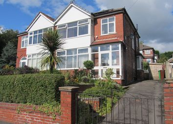 Thumbnail 3 bed semi-detached house to rent in Blackley New Road, Manchester