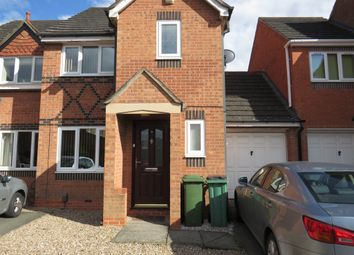 Thumbnail 3 bed semi-detached house for sale in Darien Way, Thorpe Astley, Leicester