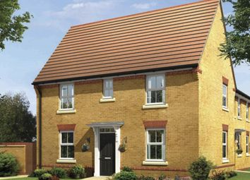 "Thumbnail 3 bed link-detached house for sale in ""Hadley"" at Caledonia Road, Off Kiln Farm, Milton Keynes"