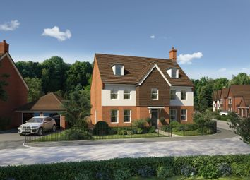 "Thumbnail 5 bed detached house for sale in ""India House"" at Wedgwood Drive, Barlaston, Stoke-On-Trent"