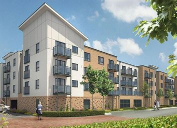 Thumbnail 1 bed flat for sale in Creek Mill Way, Dartford