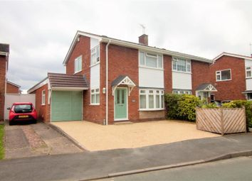 Thumbnail 4 bedroom semi-detached house for sale in Chillington Drive, Codsall, Wolverhampton