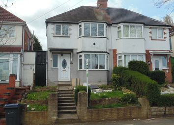 Thumbnail 3 bedroom semi-detached house to rent in Fowlmere Road, Great Barr
