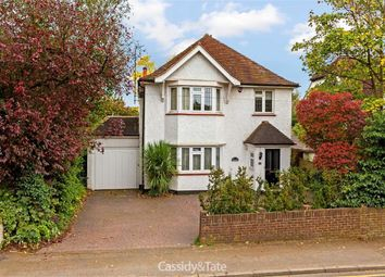 Thumbnail 4 bed detached house for sale in Bushey Hall Road, Bushey