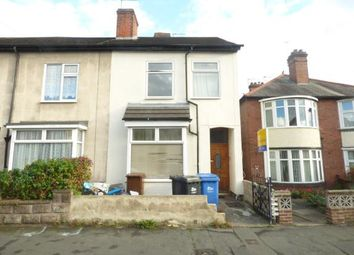 Thumbnail 4 bed end terrace house for sale in Swannington Street, Burton Upon Trent, Staffordshire