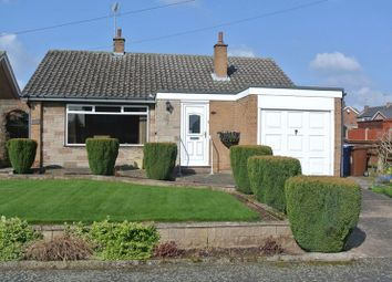 Thumbnail 2 bed detached bungalow for sale in Hallifax Avenue, Church Warsop, Mansfield