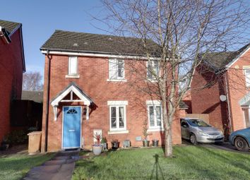 Thumbnail 4 bed detached house for sale in Farm Close, Tir-Y-Berth, Hengoed