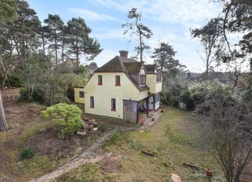Thumbnail 4 bedroom detached house for sale in Lightwater, Surrey
