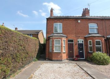 Thumbnail 2 bed end terrace house for sale in Stanton Road, Sapcote, Leicester