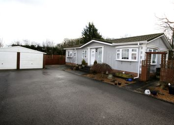 Thumbnail 1 bed mobile/park home for sale in Shenley Park, Headcorn