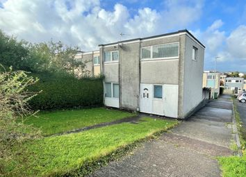 Thumbnail 3 bed end terrace house for sale in Burnard Close, Plymouth