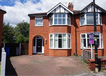 Thumbnail 3 bed semi-detached house for sale in Railway Road, Stretford