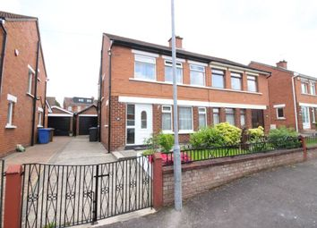 Thumbnail 3 bedroom semi-detached house for sale in Merok Gardens, Belfast