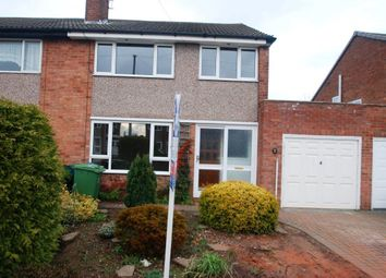 Thumbnail 3 bed property to rent in Porlock Avenue, Baswich, Stafford
