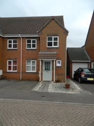 Thumbnail 3 bed semi-detached house to rent in Brouder Close, Coalville