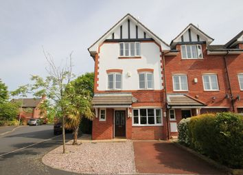 Thumbnail 3 bed town house for sale in Spires Gardens, Winwick, Warrington