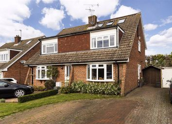 Thumbnail 4 bed semi-detached house for sale in Ash Tree Drive, West Kingsdown, Sevenoaks