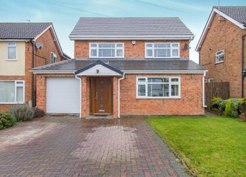 Thumbnail 5 bed detached house for sale in Ash Tree Road, Oadby, Leicester
