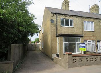 Thumbnail 3 bed end terrace house for sale in Peterborough Road, Whittlesey, Peterborough