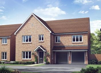 "Thumbnail 5 bed detached house for sale in ""The Compton"" at The Gallops, High Street, East Ilsley, Newbury"